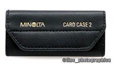 Original Minolta Card Case 2 étui pour 10 programme cartes cartes à puce program cards