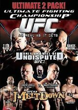UFC 43 Melt Down & UFC 44 Undisputed The Ultimate 2 Pack DVD