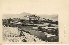 MAROC MOROCCO TARZOULA la casbah avec camp mobile de la colonne de fez