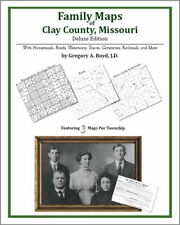 Family Maps Clay County Missouri Genealogy Plat History