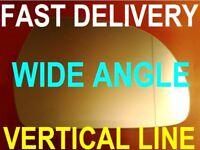 AUDI A3/ S3  2008-2012  DOOR WING MIRROR GLASS vertical line