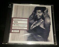 Verdi: Aida - Callas / Del Monaco / Dominguez / Taddei / De Fabritiis CD MYTO