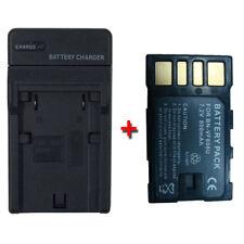 Battery&Charger for JVC GR-D790U GR-D796U GR-D850E GR-D870 D870E D870U GZ-MG130E