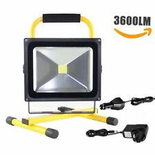30W Flood Light Portable Rechargeable LED Work Site Light Camping Car Charger