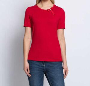 """5.9315 Designer Basic-Shirt """"rot"""" Gr. 50"""