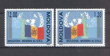 Moldova 1992 Moldovan Admission to the UN Organization 2 MNH stamps