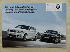 BMW 1er Leasing V-Leasing - Prospekt Brochure 01.2008