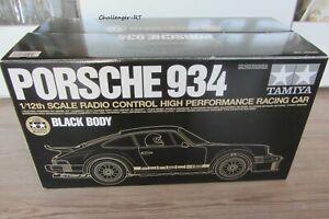 "Tamiya 84057 Porsche 934 ""Black Limited Edition"" 1/12 Nr. 412 TTG vintage"