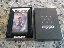 Zippo Lighter 2012 Old Glory at Half Dome Factory Sealed Z-30