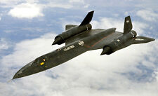 "Model Airplane Plans (RC): SR-71 Blackbird Sport Scale 38""ws for .40-.46 Engine"
