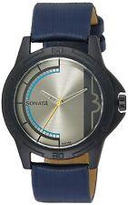 Sonata Analog Grey Dial Men's Watch-NL77018PL02