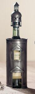 GILDE Flaschenhalter Weinhalter Turm Metall - 68569