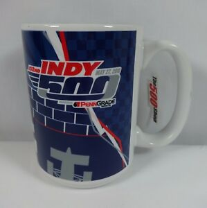 2018 Indianapolis 500 102ND PennGrade Motor Oil Event Collector Coffee Cup Mug