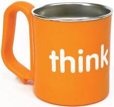 ThinkBaby Toxic Free Stainless Steel Cup Mug Orange