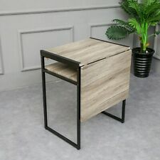 SpaceMaster Small Space Desk and Dining Table in Black
