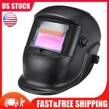 Auto-Darkening Welding Helmet Large View Area Pro Solar Welder Mask MIG ARC US