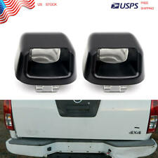 1 Pair License Plate Light Rear Bumper Lamp Housing Cover For Nissan Frontier