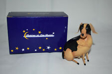 Harmony Ball Meow At The Moon Treasure Box Figurine - Dog - Telesto - Nib