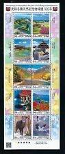 Japan 2020 100th Ann of Protection Histric Scenic Beauty and Natural Stamp S/S