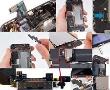 Antenna Camera Battery Earpiece Mesh Small Part Holder Bracket for iPhon 4 5 6