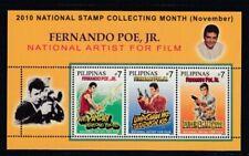 PHILIPPINES Fernando Poe, Jr., Artist MNH souvenir sheet