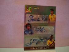 OSCAR - WILLIAN - RAMIRES 2015 PANINI DONRUSS SOCCER THE BEAUTIFUL GAME AUTO