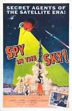 Spy In Sky Poster 01 Metal Sign A4 12x8 Aluminium
