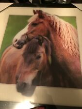 Horse Wall Picture Home Decor Farmhouse 3D