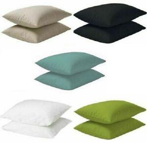 Ikea DVALA Soft Pillowcases 100% Cotton 50 x80cm 2pack