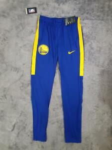 Men's Nike NBA Golden State Warriors Dry Squad Pants 923082-495 Blue sz SMALL