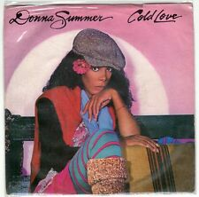 disco 45 GIRI Donna SUMMER COLD LOVE - GRAND ILLUSION