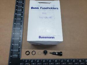 (3 pcs) HKP-EH-HH Bussmann, 15A 250V 1 Pole, Panel Mount Fuse Holder