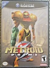 Metroid Prime (Nintendo GameCube, 2004) GUARANTEED - Free Shipping - Samus