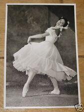 MARGOT FONTEYN VINTAGE ORIGINAL BALLET PHOTO POSTCARD ROYAL ACADEMY DANCE 1961