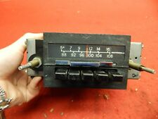 USED 60's 70's Motorola AM/FM Radio Assembly #5F2RFM6