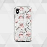 Floral Cover Flowers iPhone XS XR X Case Cute iPhone 11 Pro 7 8 Plus  12 SE Skin