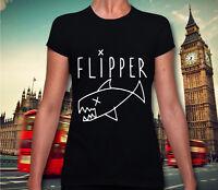 Flipper T-shirt Worn By Kurt Cobain Nirvana T Shirt Grunge Rock Festival Dope 50