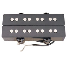 4 String Bass Humbucker Pickup Black Double Coil Electric Bass Accessory DIY