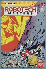 Robotech: Masters #4 (Nov 1985, Comico) [Based on Tv Show] Baron, Vokes c