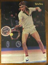 1980's Euro Pop Rocky Tennis Bjorn Borg/The Concorde Poster 16 1/2 x 22