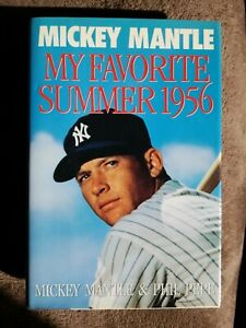 My Favorite Summer 1956 MICKEY MANTLE SIGNED First Edition