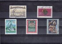 A_667 Einzelmarken 1644-1648 ʘ aus 1980 - verschiedene Ansichten