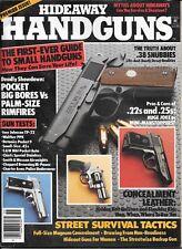 Hideaway handguns magazine 1985 premiere issue  pocket big-bores vs. rimfires