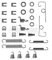 CITROEN C15 1.8D Brake Shoe Fitting Kit Rear 86 to 00 161A(XUD7) B&B 430811 New