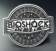 Bioshock Game Rapture Embroidered Iron On Sew On Patches Badges Transfers Patch