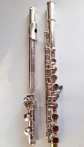 vintage Flute Selmer depose Antique Antico Flauto querflöte silver head argento