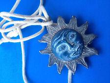 Collier Pendentif Soleil Signé LIKA PARIS / Sun Necklace Pendant