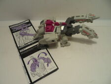 Transformers Terrorcon Hun-Grrr w original instructions manual - incomplete
