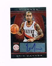 ERIC MAYNOR 2013/14 TOTALLY CERTIFIED AUTOGRAPHS RED #188 #'d 08/99 WIZARDS