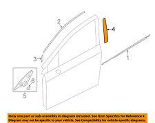SUBARU OEM 12-15 Impreza Front Door-Black Out Tape Left 90422FJ051